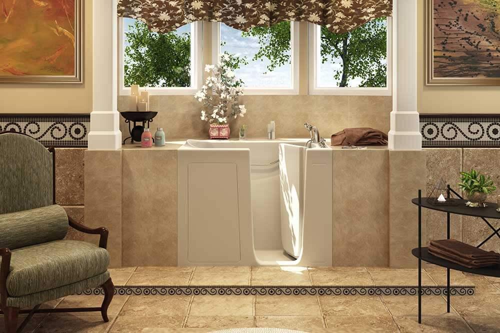 safety convenience walk in bathtub